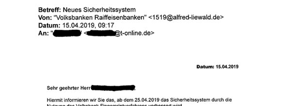 Phishing-Mail Fingerprint